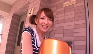 Hottest Japanese girl Miku Ohashi in Best college, massage JAV episode