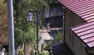 Horny Japanese whore Aya Sakurai in Hottest dildos/toys, bdsm JAV video