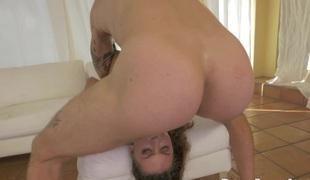 tenåring brunette anal hardcore store pupper