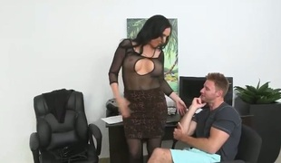 barbert deepthroat blowjob lingerie strømper
