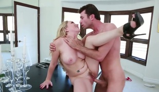 James Deen is horny as hell and can not expect any greater quantity to drill Aiden Starr with kewl wazoo and clean cunt with his beefy meat pole
