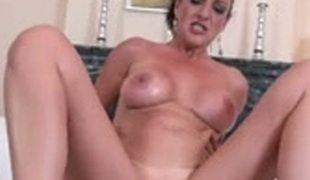 Luscious and dam seductive girl is riding big dong in a cowgirl position