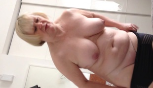wifes 40 inch tits and belly