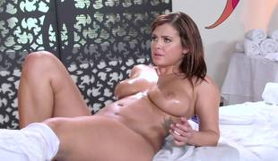 Keisha Grey anally fisted by hot milf babe Ava Addams