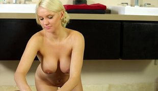 Stunning babe gets wicked with cock