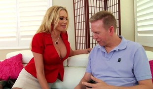 Elegant Briana Banks screwed bad in her butt hole