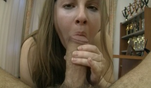 Lusty sweetie Paula A fucks a hot dude on POV camera