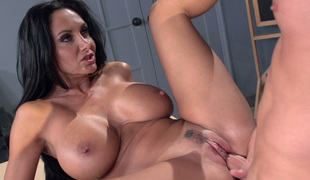 Everything about Ava Addams is sexy and she knows how to engulf a dick