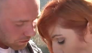 Lauren Phillips takes part in a bi-sexual threesome