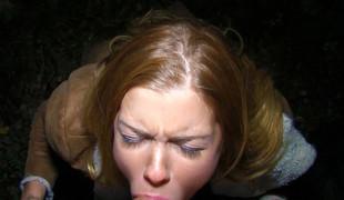 Chrissy Fox in Euro Blonde Sucks Stranger Dick - PublicPickups