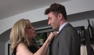 Nina Hartley & James Deen in My Evil Stepson #02 Video