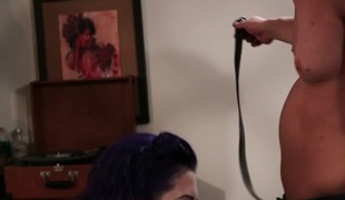 Larkin Love & Will Powers in Rockabilly Pin Up Larkin Scene