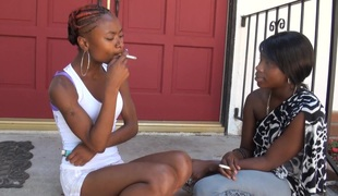 BlackGirlsWhiteSlaves: Girls Smokin'