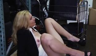 European prostitute Hawt Milf Gangbanged At The PawnSHop