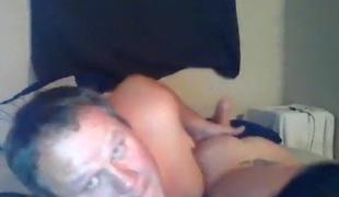 fingring kone par webkamera rett