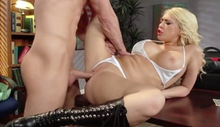 Kagney Linn Karter is one hot cock sucker that loves Bill Baileys snake so much