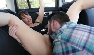 Dana DeArmond with gigantic jugs is willing to suck Tommy Pistols love wand fuck 24/7