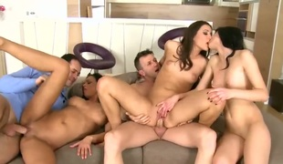 James Brossman admires lovely Kitty Lovedreams body before this babe takes his chap meat in her deep down her face hole