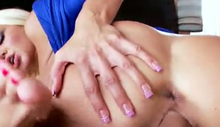 Awesome cock riding abilities of a blond European cutie