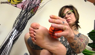 briller solo tatovering fetish foot fetish