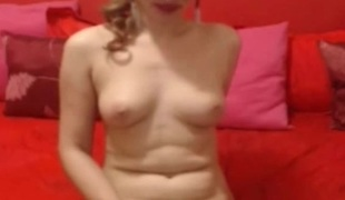 Super Hot Shemale Slut Playing her huge Cock