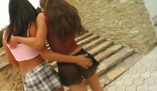 Jeny Baby and Missy Nicole in fisting lesbian scene by FistFlush