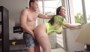 Super large boobs of Anastasia Lux will drive your shlong eager