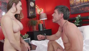 Chanel Preston blows the man that bonks her up the ass