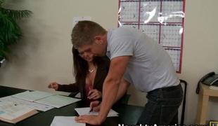 Syren De Mer & Danny Wylde in My 1st Sex Teacher