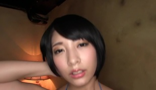 Best Japanese chick Miku Abeno in Lewd swallow, cougar JAV clip