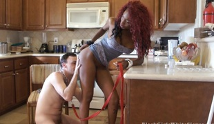 BlackGirlsWhiteSlaves: A Fuck Before Lunch