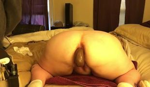 Double trouble for a BBW dilettante slut