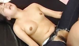 Seductive brunette screwed hard and coarse