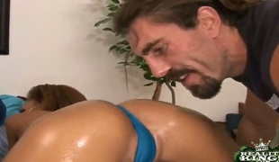 barbert brunette kjønn blowjob onani