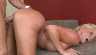 Milf with fucking sexy ass Karen Fisher is fucked in different positions