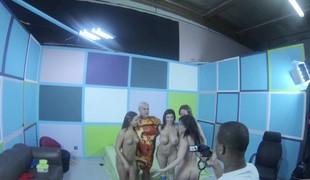 Sara Jay, Amirah Adara and Jennifer White have some POV act