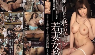 Fabulous Japanese slut Azumi Yukino in Exotic big tits, gangbang JAV movie scene