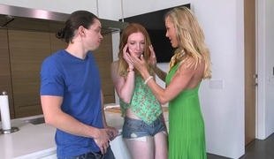Brandi Love & Katy Kiss & Alex Davis in All In Brandi - MomsBangTeens