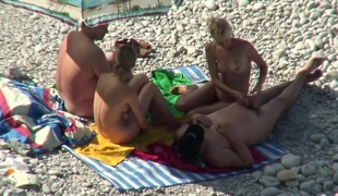 Hottest Non-professional clip with Nudism, Voyeur scenes