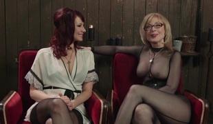 slikking lesbisk slem fitte kontor