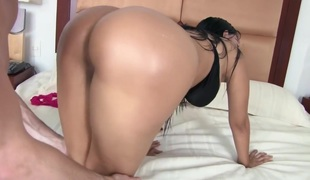 A huge Latina wazoo to fuck