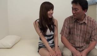 Exotic pornstar Haruna Shinjo in lewd large tits, college adult movie