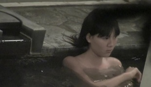 Asian miniature titties seen throughout the pool water on spy web camera nri049 00