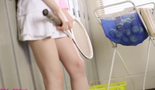 Crazy Japanese model Airi Suzumura in Hottest face sitting, changing room JAV movie