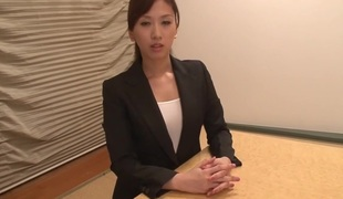 Astonishing Japanese floozy Anna Noma in Exotic cougar, pov JAV video