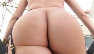 Jenna Ivory is left with a creamy soaked butthole