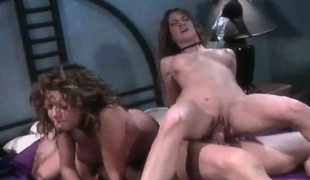 Gina Ryder and some other babe are in a threesome getting licked and dicked