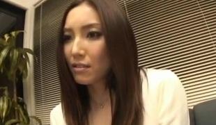 Nozomi Mashiro Oriental doll acquires pussy widen and masturb