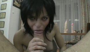 Albertina gets poked so hard that her wet hole will never be tight again