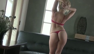 Alexis Texas is a lovely blond that has a piercing look in her eyes. She does not like it when people mess with her. All that do are getting a taste of her huge ass.